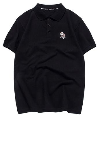 HAPPY FRIDAYS 簡約休閒刺繡Polo恤 RS1203 8FCFCAA8A18803GS_1