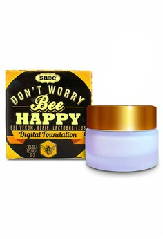 Don't Worry Bee Happy Digital Foundation Amethyst