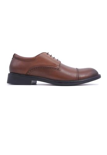 Hanson Bootmaker brown Hanson Bootmaker LacEasy Derby - Brown 932C1SH945CEC7GS_1