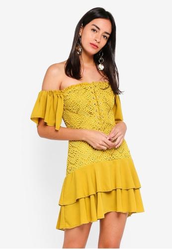 Finders Keepers blue Sunseeker Mini Dress 1D467AA61CD74EGS_1