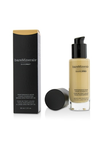 BareMinerals BAREMINERALS - BarePro Performance Wear Liquid Foundation SPF20 - # 09 Light Natural 30ml/1oz 1E3BBBE6AD0088GS_1