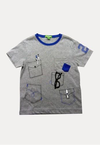 Bossini grey Bossini Kids Boy T-Shirt H Grey (03080717097 8F53AKAF13EF7FGS_1