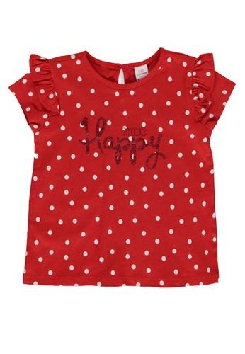 LC Waikiki red Baby Girl Printed Cotton T-Shirt 3B8E4KA307D4FFGS_1