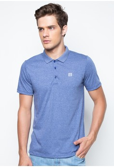 Men's Short Sleeved Polo with Contrast