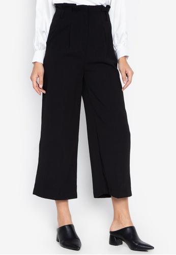 Susto The Label black Oriane Highwaist Pants 87CACAA9968697GS_1