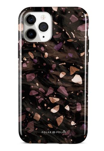 Polar Polar brown Eminence Terrazzo Gem Dual-Layer Tough Case Glossy For iPhone 11 Pro A5AEFAC51B5732GS_1