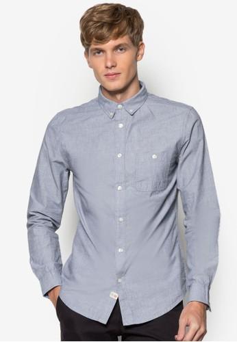 棉質長袖襯衫,尖沙咀 esprit outlet 服飾, 素色襯衫