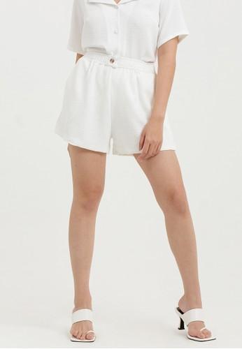 Cloth Inc white Flowy Shorts in White EEEDDAABD4960CGS_1