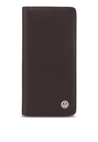 Volkswagen brown Volkswagen Bi-Fold Long Wallet VO089AC61GKGMY_1