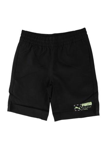 PUMA black Active Sports Woven Youth Shorts 015B4KAC365F1EGS_1