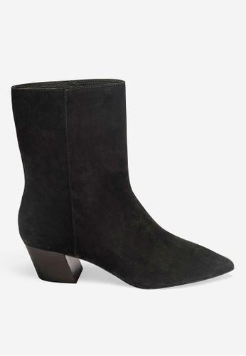 ASH black Carla - Black Ankle Boots F98EFSH8692264GS_1