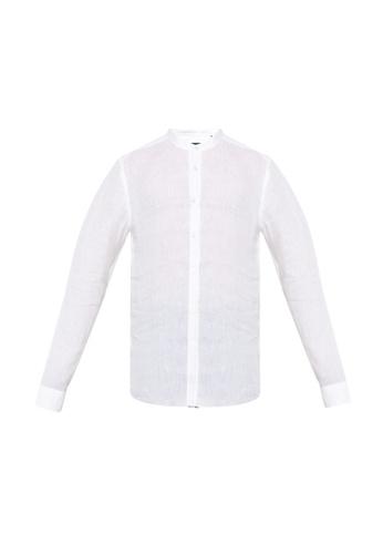 BOSS white Jorris 10164864 Shirt D3D27AAD03772BGS_1
