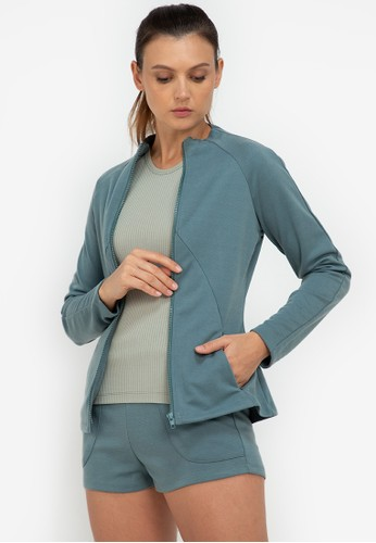ZALORA ACTIVE green Fitted Gym Jacket A94E8AAF8A60BCGS_1