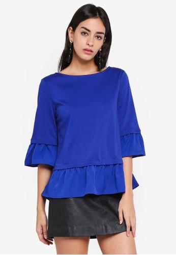 Vero Moda blue Tally Top FA314AA6201C06GS_1