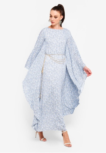 ce5d6dedb Buy Zalia Embellished Chiffon Kaftan Online on ZALORA Singapore