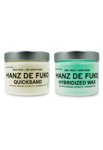 Hanz de Fuko Hanz de Fuko Quicksand and Hybridized Wax Set HA369BE05NKCSG_1