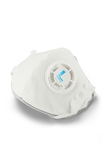 LIFAair white LIFAair LM99 KN95 Respirator Mask with Valve 10pc CEB2FES12DC74CGS_1