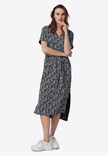 Vero Moda black Printed Shirt Dress 2C092AAA4293C5GS_1