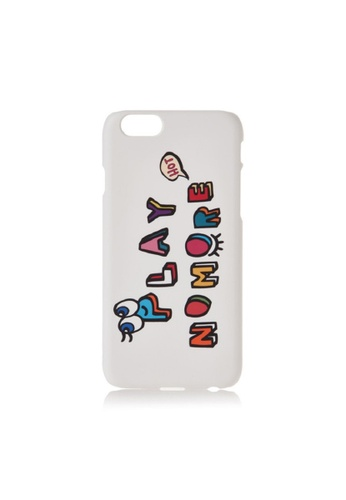 PLAYNOMORE multi PLAYNOMORE PLAY LETTER PHONE CASE C825EACCFBC28BGS_1