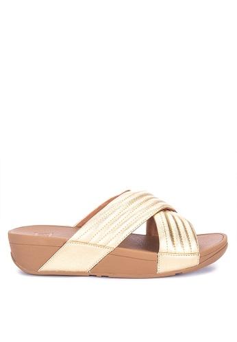 48c41b7aca98 Shop Fitflop Lulu Padded Slide Sandals Online on ZALORA Philippines