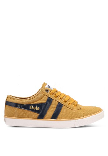 Gola yellow and navy Comet Sneakers FDD97SH6D65112GS_1