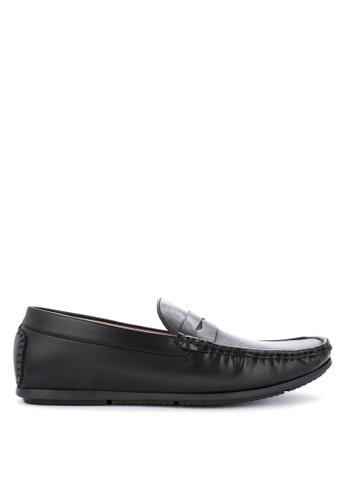 Mendrez black Baron Loafers & Moccasins E1B3DSH33F8399GS_1