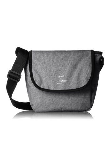 Anello grey ANERO High-Density Canvas Cross-Body Bag-AT-N0662-GY GREY 0D2BFACFA577D8GS_1