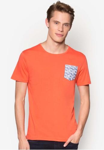 Pocket Graphic T-Shirt, 服飾, 印esprit 價位圖T恤