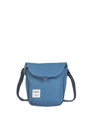 Hellolulu blue Hellolulu Desi Sling Bag (Smoke Blue) 60F67AC75C798AGS_1