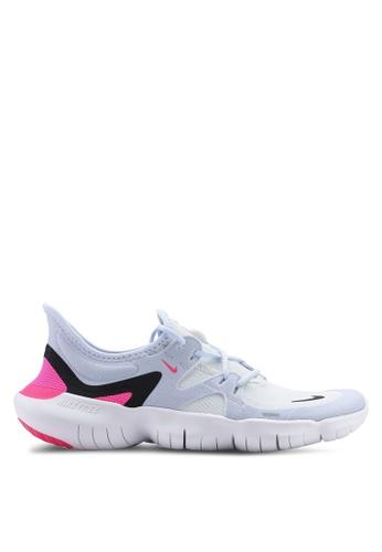brand new 50911 d06dd Nike white Women s Nike Free RN 5.0 Shoes 2C1F6SHDD114F7GS 1