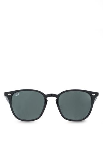 Ray-Ban black RB4258F Sunglasses RA896GL13UUGMY_1