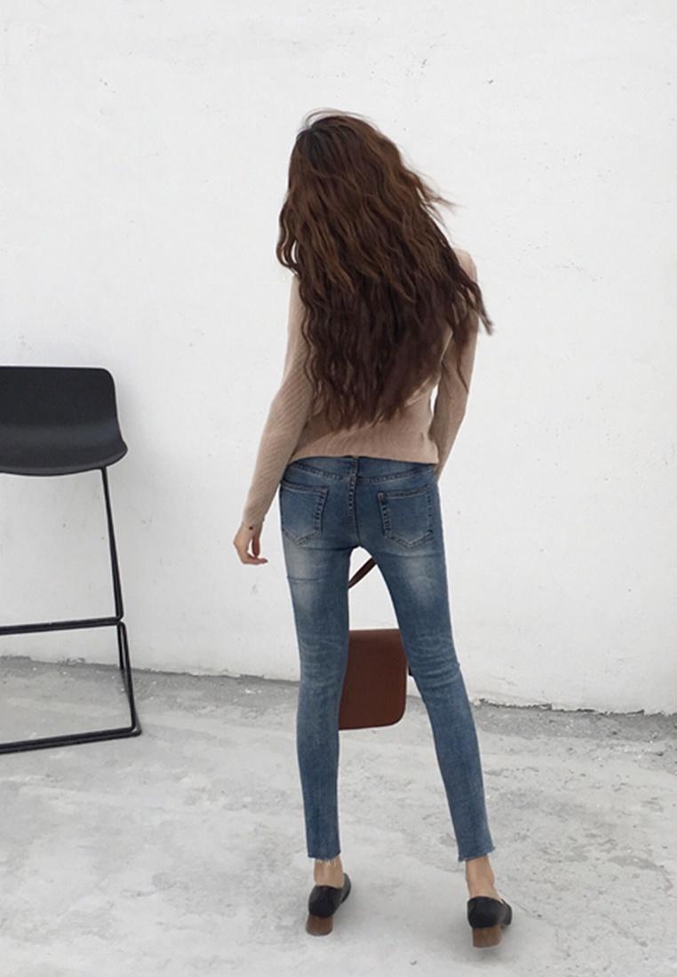Ji blue Seoul Meong Love in Jeans tq4w8