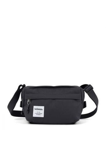 Hellolulu grey Hellolulu Hollis Mini Bag (Charcoal) A0D25AC8ADA2B9GS_1