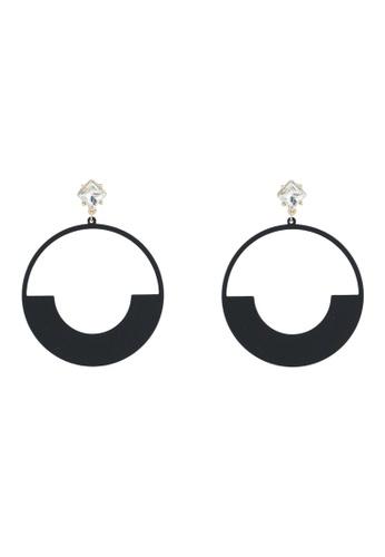 ALDO 黑色 Gwyrka 耳環 A56B0AC143550DGS_1