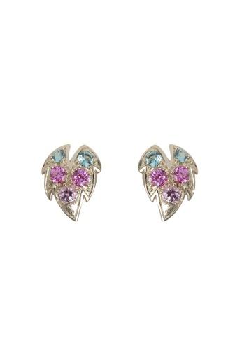 Arte Madrid pink and green Arte Madrid Tropical Dream Sweet Grape Earrings BA486AC1F88CEEGS_1