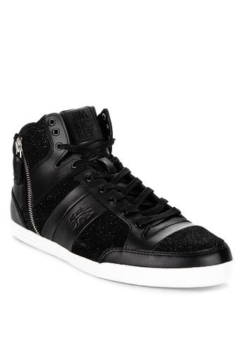 Jim Rickey black Carve Mid Z Sneakers 6BB07SH9DC83B3GS_1