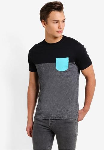 Wrung grey Pocket T-Shirt WR395AA79MPWMY_1