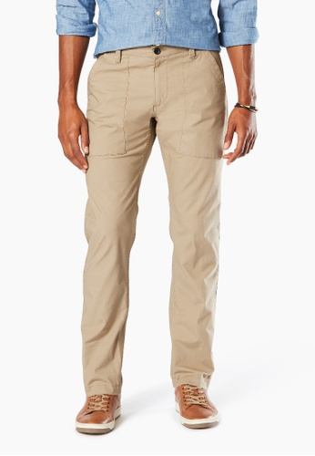 Dockers brown Dockers Workwear Pants Classic Fit New British Khaki 6C1AEAA3A806F1GS_1