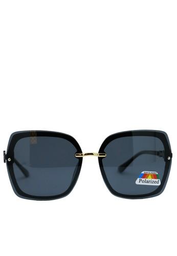BALLIN black Kacamata  Wanita Polarized Rimless Sunglasses ZEST 12.6 D1ABDGL89E64EFGS_1
