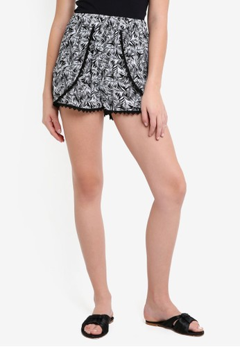 OVS multi Printed Shorts 468D2AABE42DFDGS_1