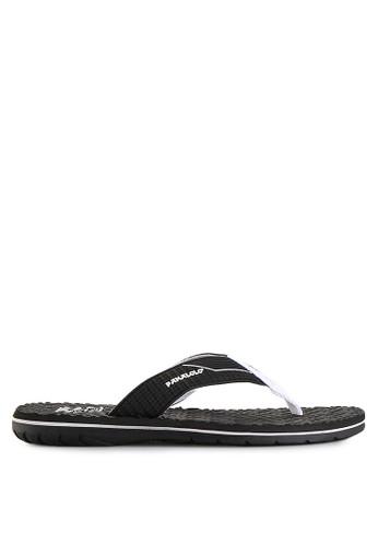 Pakalolo Boots black Thong Sandal PA409SH09PCWID_1