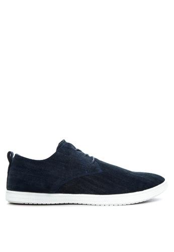 Alberto navy Lace-up Sneakers AL375SH90QERPH_1