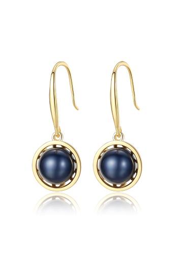 A.Excellence black Premium Black Pearl Elegant Earring 95F7AAC59B4399GS_1