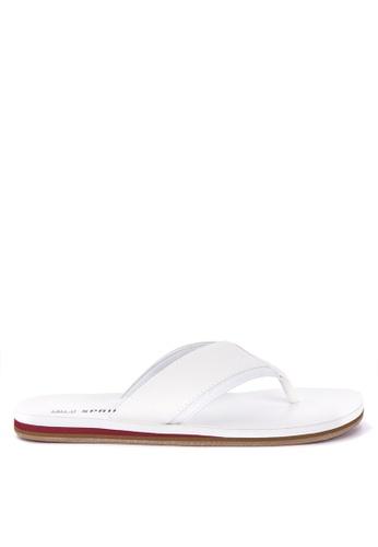 Call It Spring white Jickson Sandals 710D9SHDF35D40GS_1