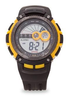 Unisex Rubber Strap Watch MXJ 853B0131