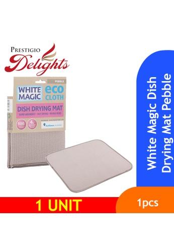 Prestigio Delights White Magic Dish Drying Mat Pebble DAB19ESAADB83CGS_1