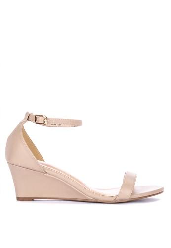 62882ec6c941 Shop Matthews Luis Ankle Strap Wedge Sandals Online on ZALORA Philippines