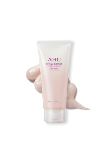 AHC AHC Peony Bright Deep Cleansing Foam 140ml 13325BED2C3886GS_1