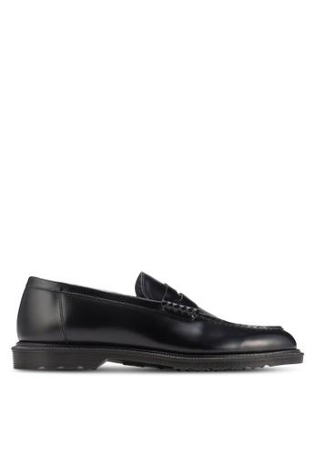 Dr. Martens black Henley Penton Shoes DR086SH85ITMSG_1