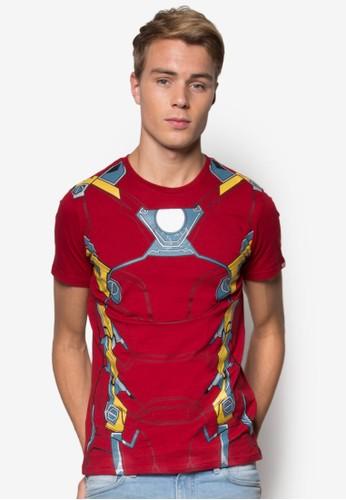 漫威鋼鐵人盔甲Tesprit hkEE, 服飾, T恤